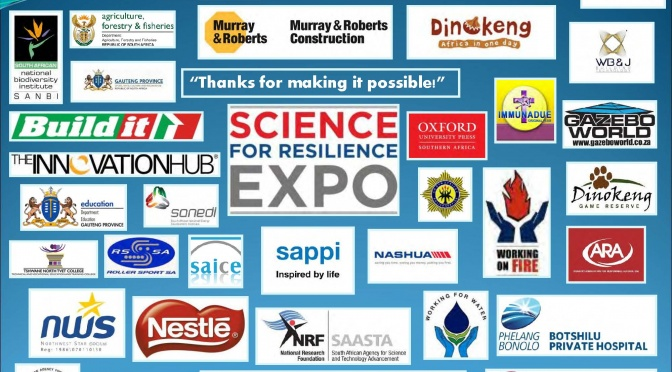 Report: Sponsors, Partners & Attendance Registers  2015 Science for Resilience EXPO